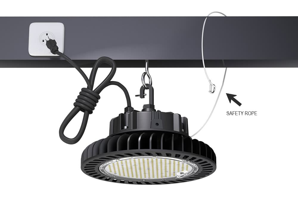 lamp safety rope